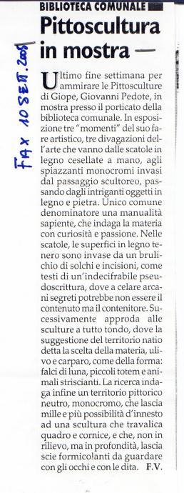 Articolo2 fax 2005