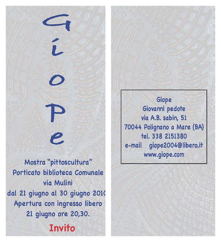 Invito 2010